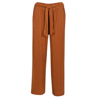 material Women Wide leg / Harem trousers Moony Mood 93114-ROUILLE Rust