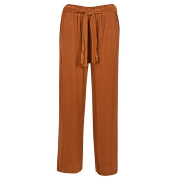 material Women Wide leg / Harem trousers Moony Mood MERONAR Rust