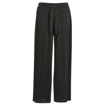 material Women Wide leg / Harem trousers Moony Mood  Black