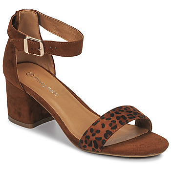 Shoes Women Sandals Moony Mood MEDIO Leopard