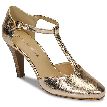 Shoes Women Court shoes Moony Mood MAELYS Gold / Matt