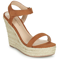 Shoes Women Sandals Moony Mood MARLEINE Camel