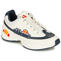 Shoes Men Low top trainers Ellesse SPARTA LTHR AM White / Blue