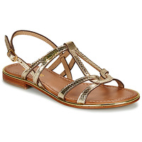 Shoes Women Sandals Les Tropéziennes par M Belarbi HACKLE Gold