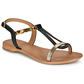 Shoes Women Sandals Les Tropéziennes par M Belarbi HAMAT Black / Leopard