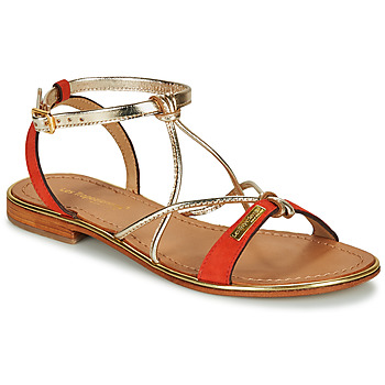 Shoes Women Sandals Les Tropéziennes par M Belarbi HIRONBUC Coral / Gold