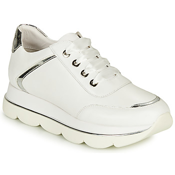 Shoes Women Low top trainers Café Noir MENIAZ White