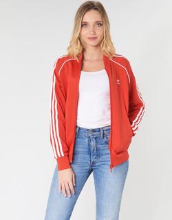 material Women Jackets adidas Originals SS TT Red