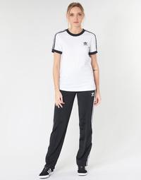material Women Tracksuit bottoms adidas Originals FIREBIRD TP Black