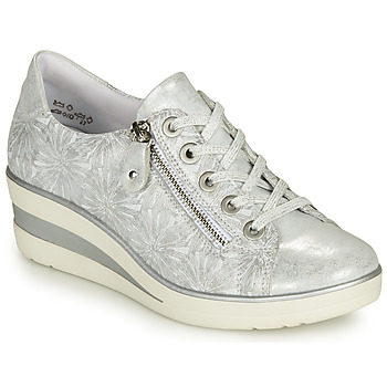 Shoes Women Low top trainers Remonte Dorndorf BORIO Silver