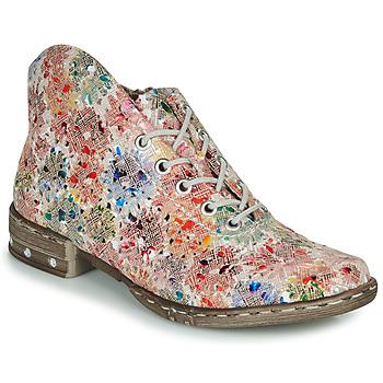 Shoes Women Low boots Rieker LOKTOS White