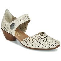 Shoes Women Court shoes Rieker KIRIN Beige