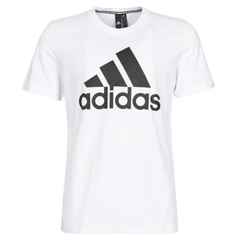 material Men short-sleeved t-shirts adidas Performance MH BOS Tee White