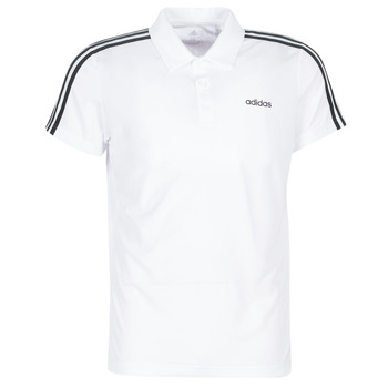 material Men short-sleeved polo shirts adidas Performance M D2M CLA 3S PO White