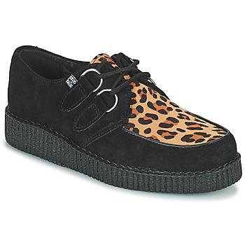 Shoes Derby shoes TUK LOW FLEX ROUND TOE CREEPER Black / Leopard