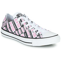 Shoes Women High top trainers Converse Chuck Taylor All Star Logo Play White / Pink / Black