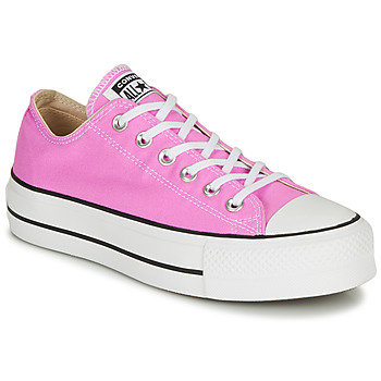 Shoes Women Low top trainers Converse CHUCK TAYLOR ALL STAR LIFT SEASONAL COLOR Pink