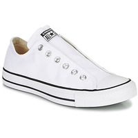 Shoes Women Slip ons Converse CHUCK TAYLOR ALL STAR SLIP CORE BASICS White