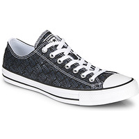 Shoes Men High top trainers Converse CHUCK TAYLOR ALL STAR LOGO PLAY Black