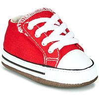 Shoes Children High top trainers Converse Chuck Taylor All Star Cribster Canvas Color Red
