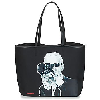 Bags Shopper bags Karl Lagerfeld KARL LEGEND PHOTOGRAPHER Black