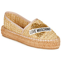 Shoes Women Espadrilles Love Moschino  Beige