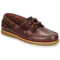 Shoes Men Boat shoes Lumberjack NAVIGATOR Brown