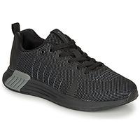 Shoes Men Low top trainers Lumberjack TEMPO Black