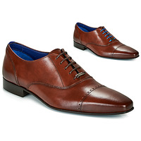 Shoes Men Brogue shoes Azzaro DOGME Cognac