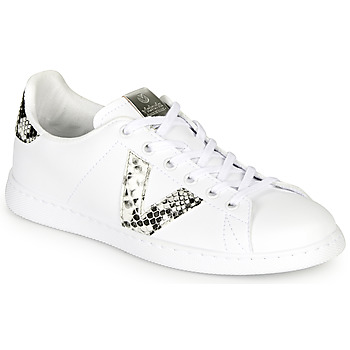 Shoes Women Low top trainers Victoria TENIS SERPIENTE White / Grey