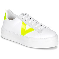 Shoes Women Low top trainers Victoria BARCELONA LONA White