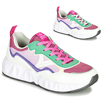 Shoes Women Low top trainers Victoria ARISTA REJI White / Violet