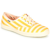 Shoes Women Low top trainers Victoria NUEVO RAYAS Yellow / White