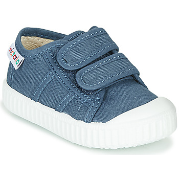 Shoes Children Low top trainers Victoria BASKET VELCRO Blue