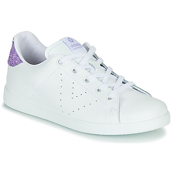 Shoes Girl Low top trainers Victoria TENIS PIEL G White