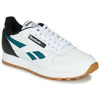 Shoes Men Low top trainers Reebok Classic CL LEATHER MU White / Black