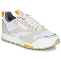 Shoes Women Low top trainers Reebok Classic CL LEATHER RIPPLE T Beige / White
