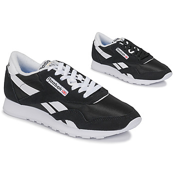 Shoes Low top trainers Reebok Classic CL NYLON Black