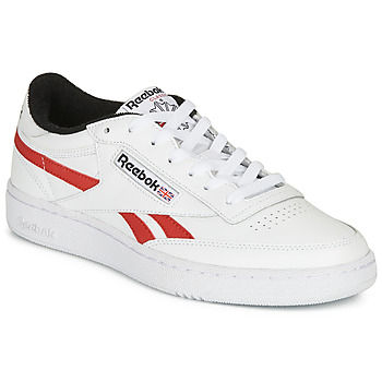 Shoes Low top trainers Reebok Classic CLUB C REVENGE MU White / Red