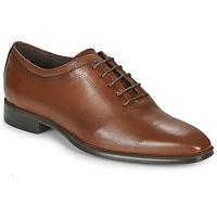 Shoes Men Brogue shoes Carlington MINEA Cognac