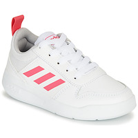 Shoes Girl Low top trainers adidas Performance TENSAUR K White / Pink