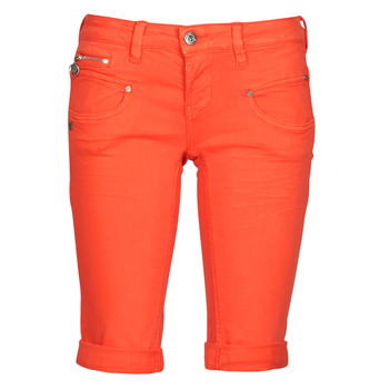 material Women Shorts / Bermudas Freeman T.Porter BELIXA NEW MAGIC COLOR Orange