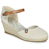 Shoes Women Sandals Dockers by Gerli 36IS210-400 Beige