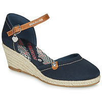 Shoes Women Sandals Dockers by Gerli 36IS210-667 Marine