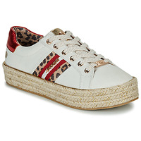 Shoes Women Low top trainers Dockers by Gerli 46GV202-509 White / Multi