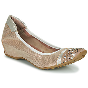 Shoes Women Ballerinas Mam'Zelle FETE Nude