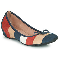 Shoes Women Ballerinas Mam'Zelle FLUTE Blue / Beige / Bordeaux
