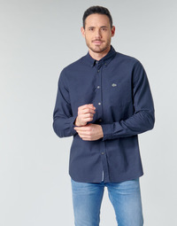material Men long-sleeved shirts Lacoste ANNIE Marine