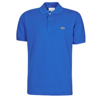 material Men short-sleeved polo shirts Lacoste POLO L12 12 REGULAR Blue / King