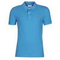 material Men short-sleeved polo shirts Lacoste PH4012 SLIM Blue / Turquoise